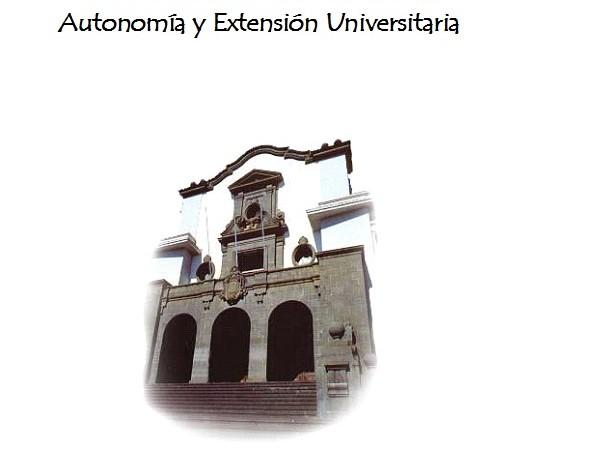 HISTORIA SOCIAL DE LA UNIVERSIDAD EN MÉXICO Autonomía y Extensión Universitaria. Por Ernesto Duque Padilla