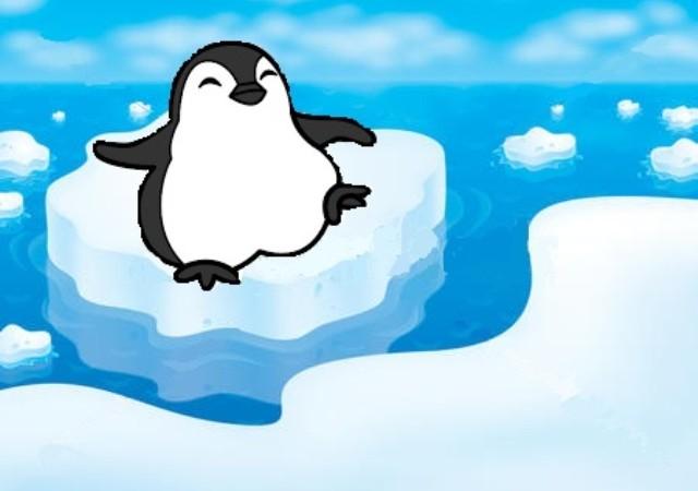 El pingüinito solitario